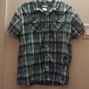 Kid's Mickey Mouse button down